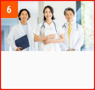 栃木県内の医療機関と連携